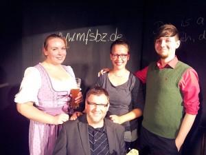 Die Impro-, Singe-, Spiel- und Lesebühne aus Schwerin